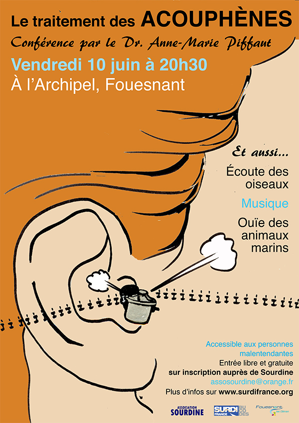 Affiche AG Bucodes SurdiFrance Fouesnant 2016