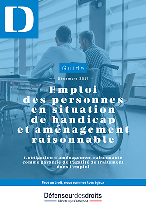 guide amenagement raisonnable emploi handicap